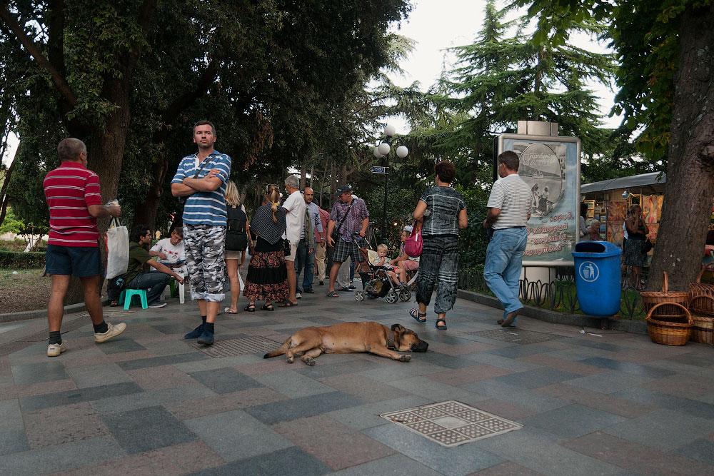 Крым, Гурзуф, сентябрь 2011 года (1)
