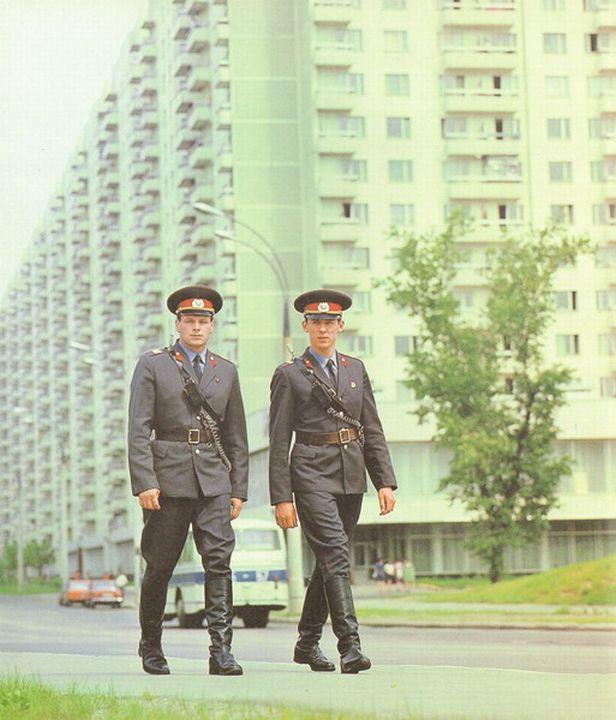 Советская милиция - самая милиция в мире!