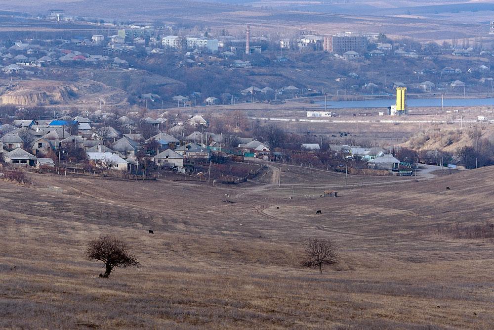 Поля у села Бульбоака Новоаненского района Республики Молдова (6)