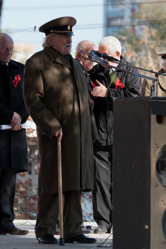 Митинги приднестровских коммунистов в годовщину Октября - 7 ноября 2011 года