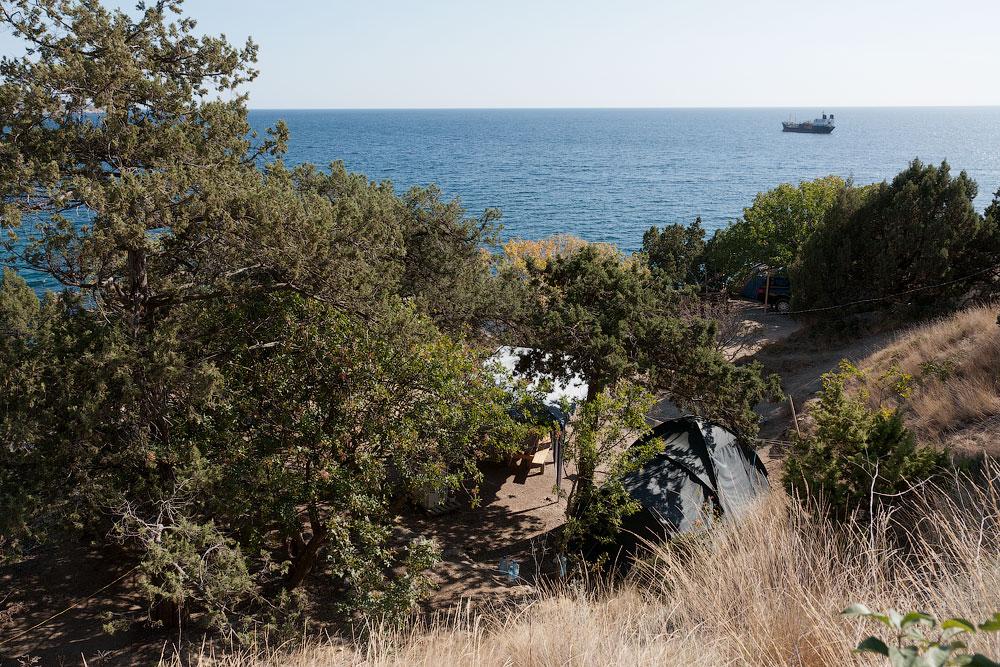 Крым, бухта Ласпи, мыс Айя, урочище Батилиман (14)