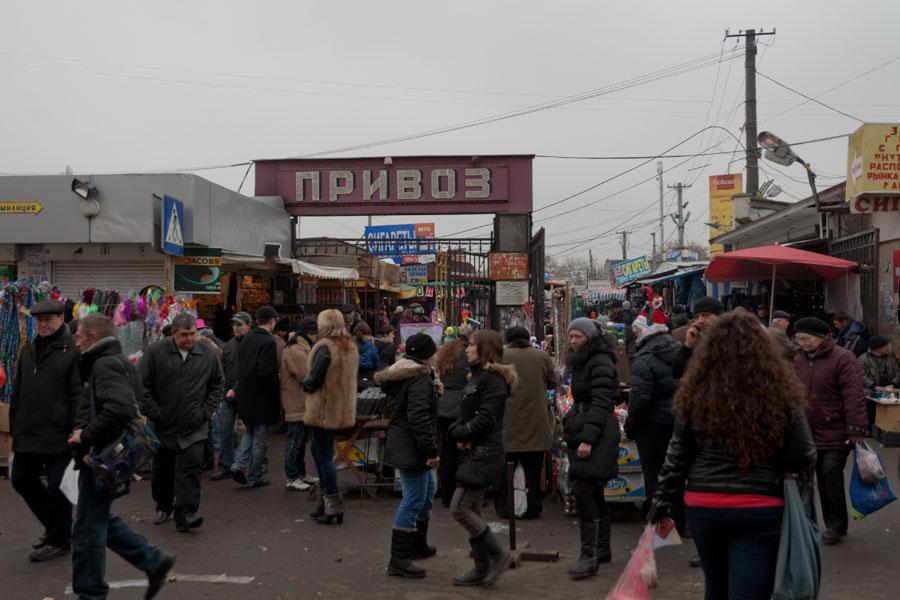 Новогодняя прогулка по Одессе - 31 декабря 2011 года (2)