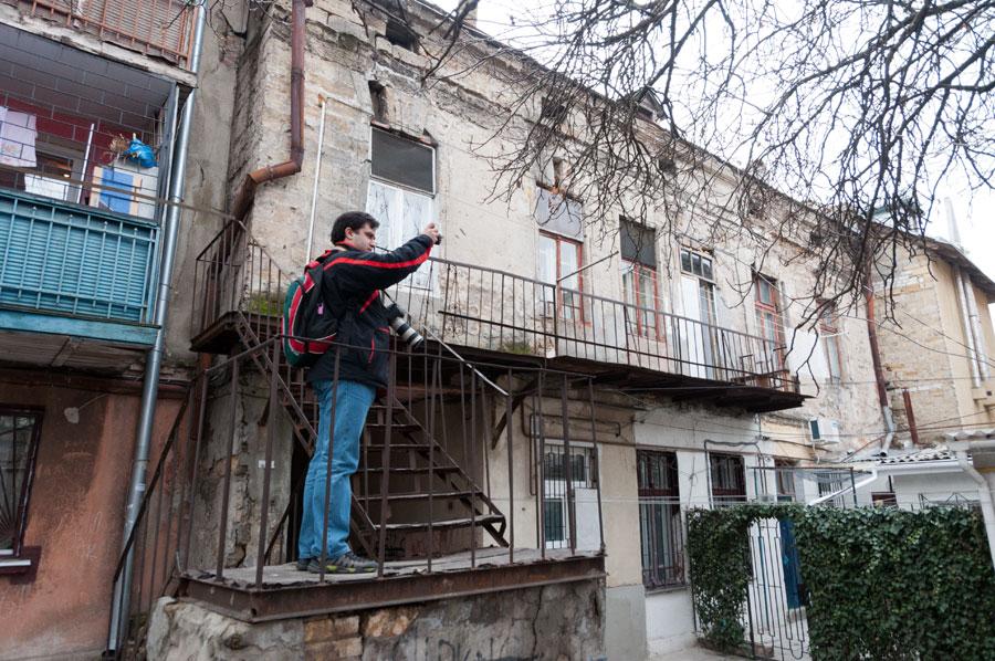 Новогодняя прогулка по Одессе - 31 декабря 2011 года (13)