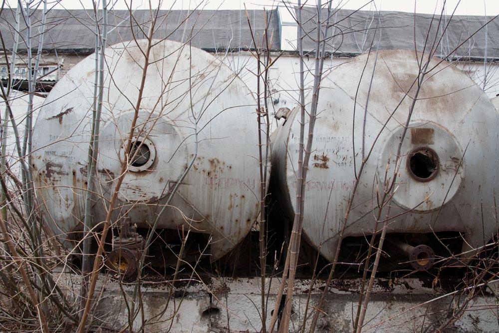 Приднестровье, Рыбница - прогулка по территории сахспиркомбината (3)