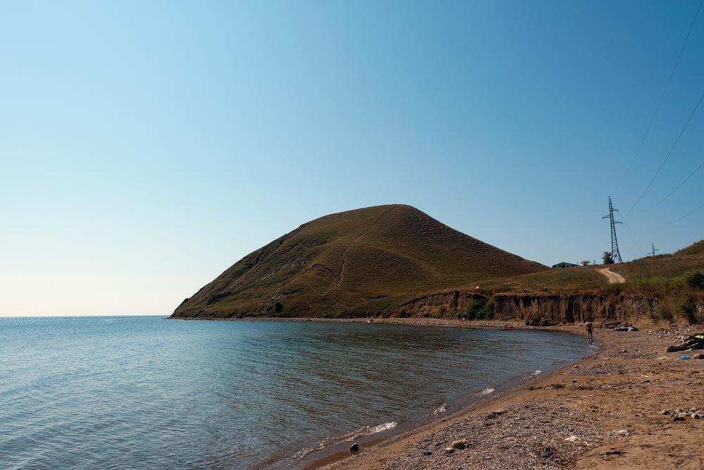 Крым, поселок Орджоникидзе (Феодосия), пляжи - лето 2011 года (2)
