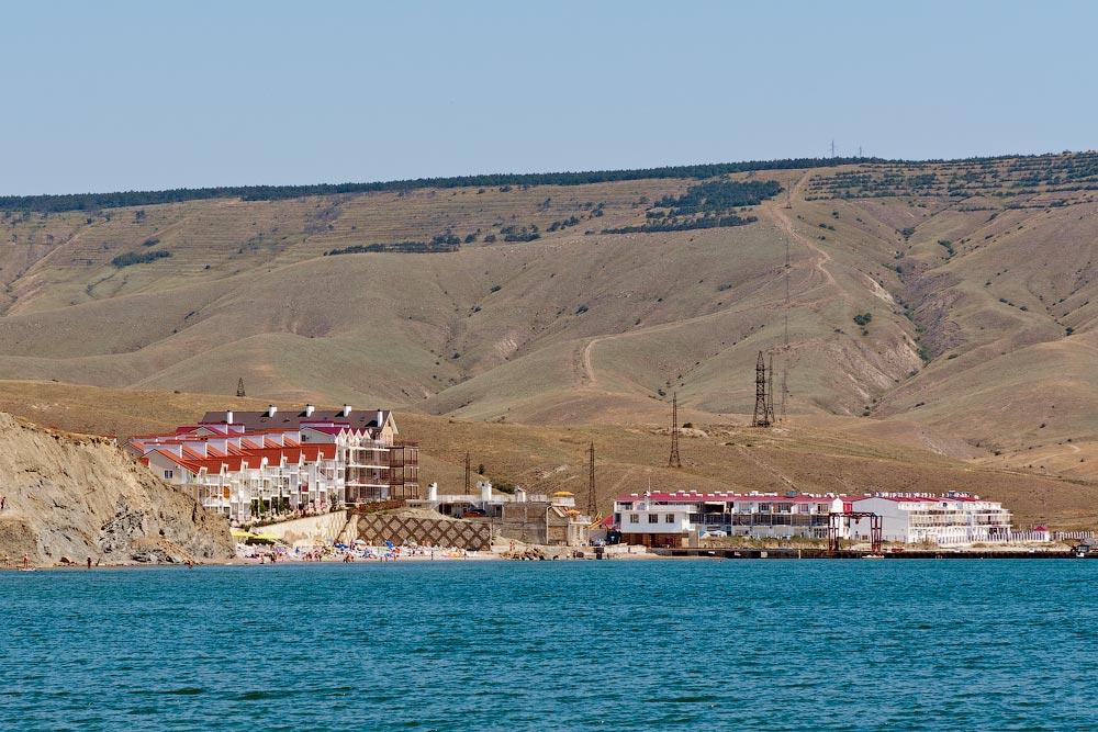 Крым, поселок Орджоникидзе (Феодосия), пляжи - лето 2011 года (4)