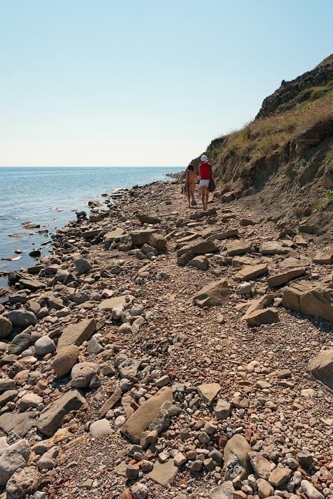 Крым, поселок Орджоникидзе (Феодосия), пляжи - лето 2011 года (5)