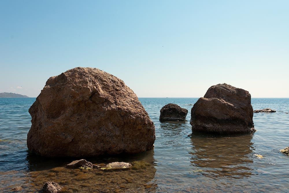 Крым, поселок Орджоникидзе (Феодосия), пляжи - лето 2011 года (8)