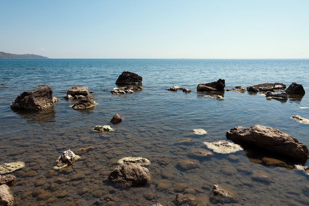 Крым, поселок Орджоникидзе (Феодосия), пляжи - лето 2011 года (10)