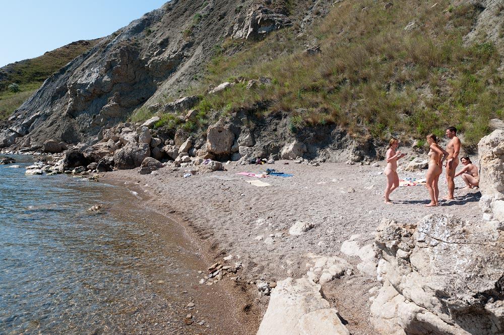 Крым, поселок Орджоникидзе (Феодосия), пляжи - лето 2011 года (11)