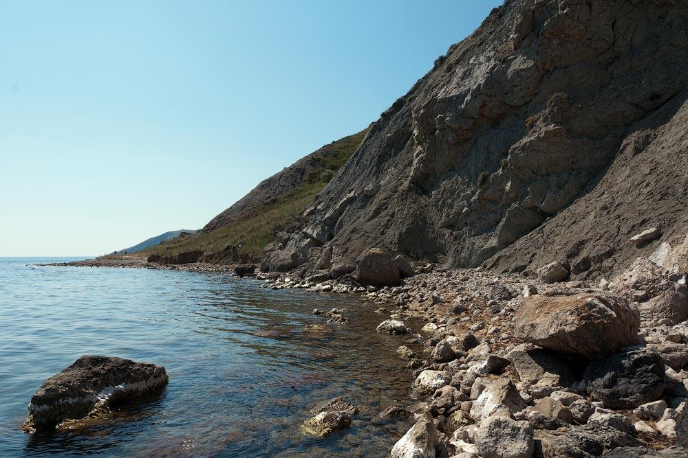 Крым, поселок Орджоникидзе (Феодосия), пляжи - лето 2011 года (12)