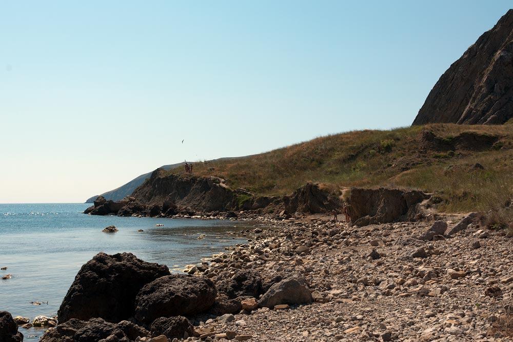 Крым, поселок Орджоникидзе (Феодосия), пляжи - лето 2011 года (14)