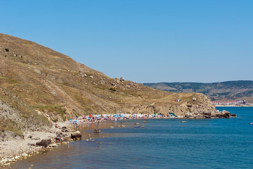 Крым, поселок Орджоникидзе (Феодосия), пляжи - лето 2011 года (15)