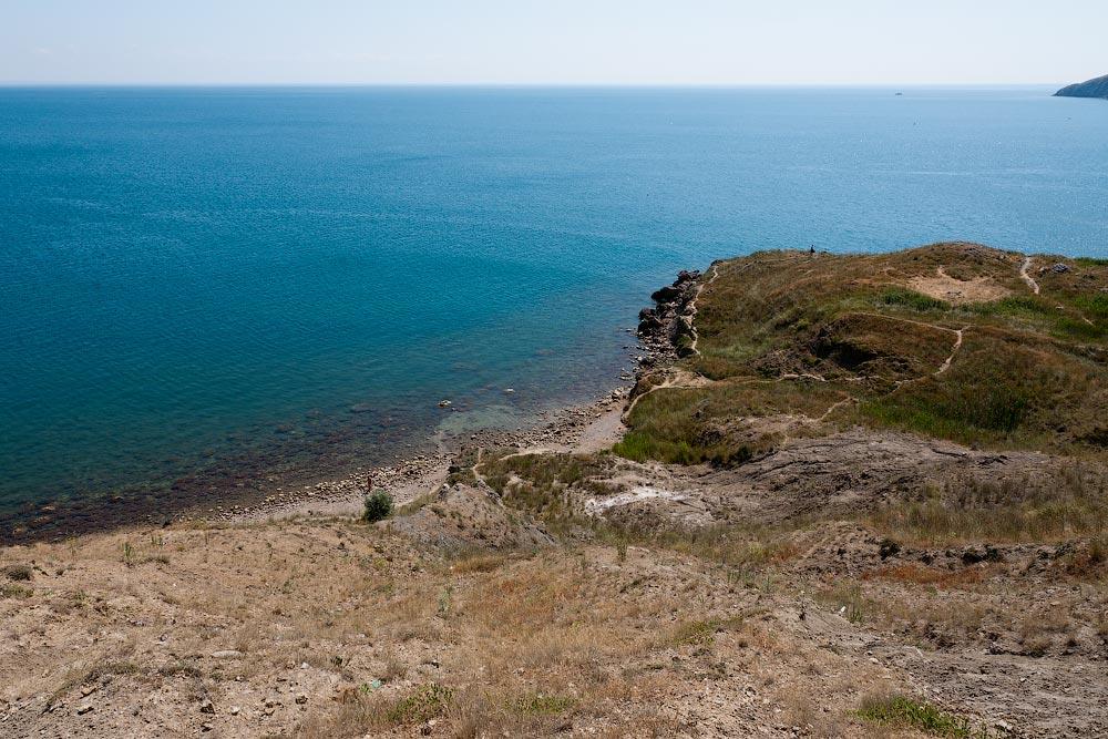 Крым, поселок Орджоникидзе (Феодосия), пляжи - лето 2011 года (16)