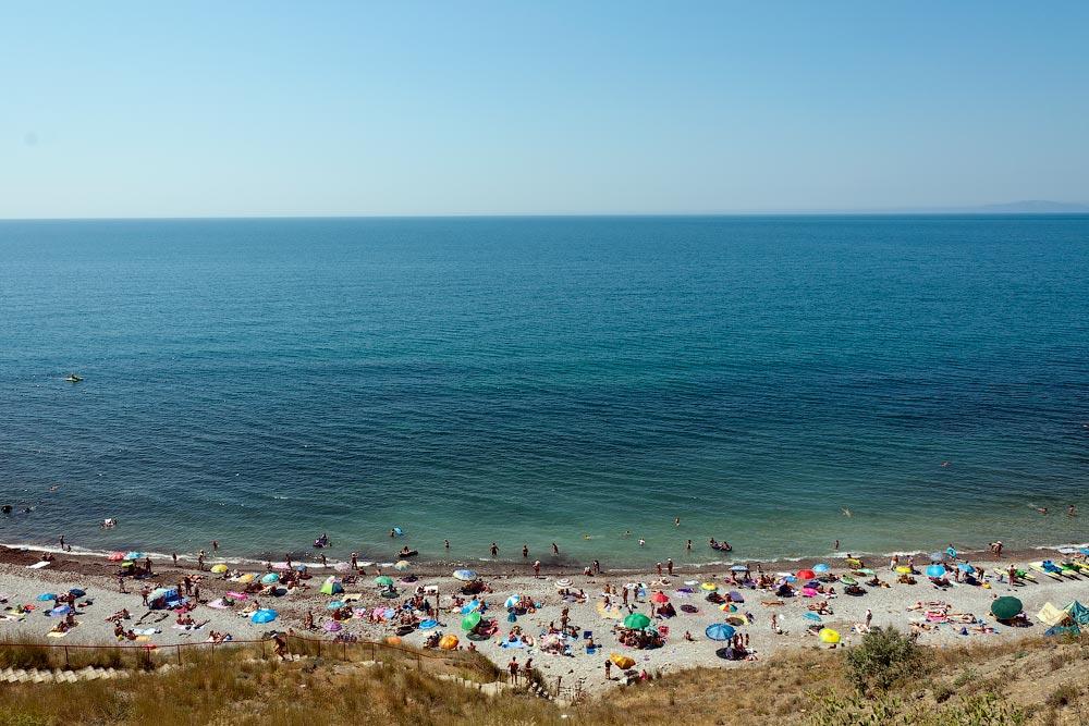 Крым, поселок Орджоникидзе (Феодосия), пляжи - лето 2011 года (21)