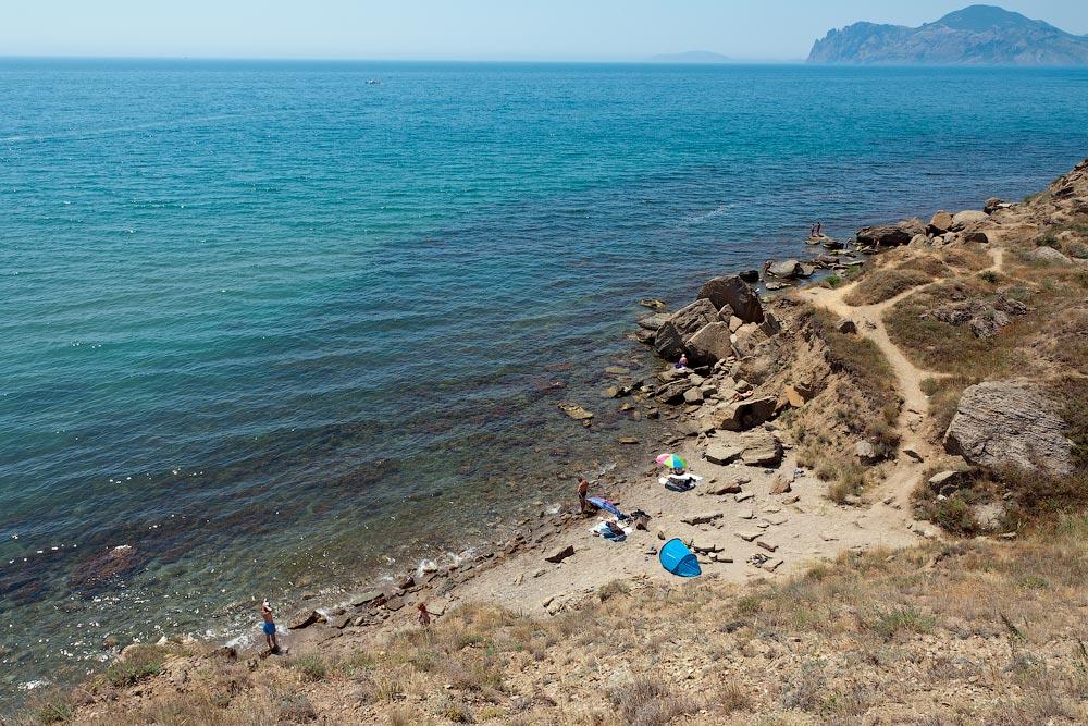 Крым, поселок Орджоникидзе (Феодосия), пляжи - лето 2011 года (25)