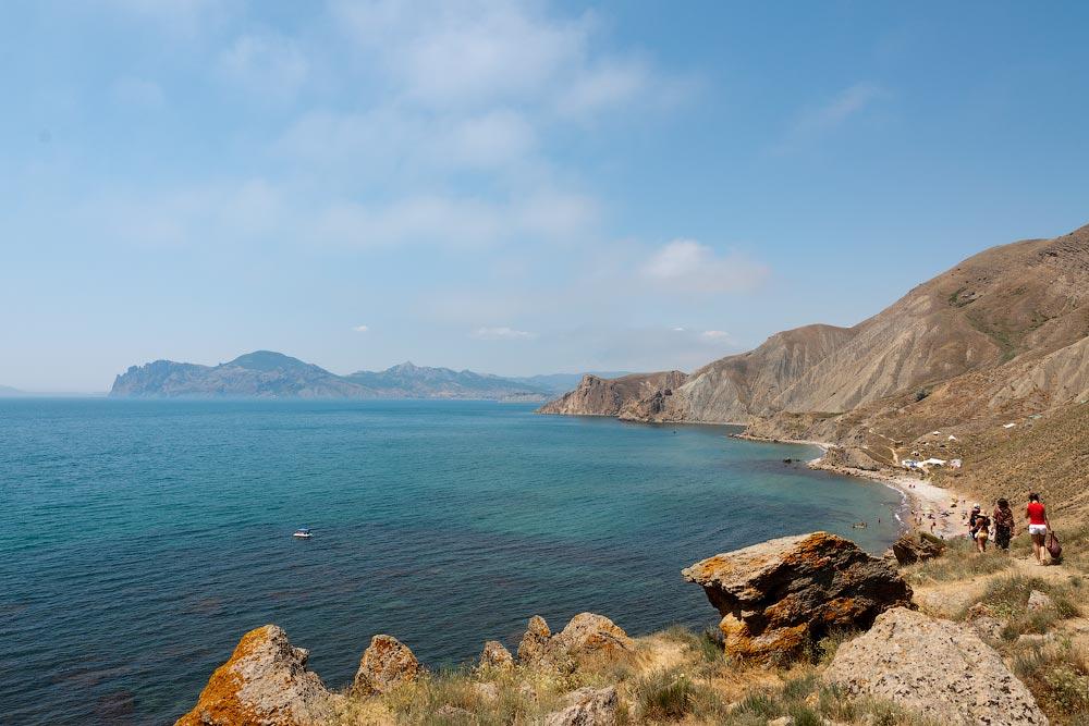 Крым, поселок Орджоникидзе (Феодосия), пляжи - лето 2011 года (26)