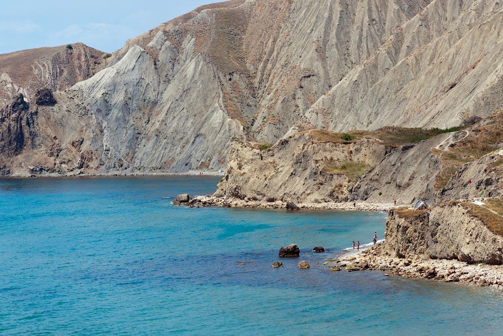 Крым, поселок Орджоникидзе (Феодосия), пляжи - лето 2011 года (28)
