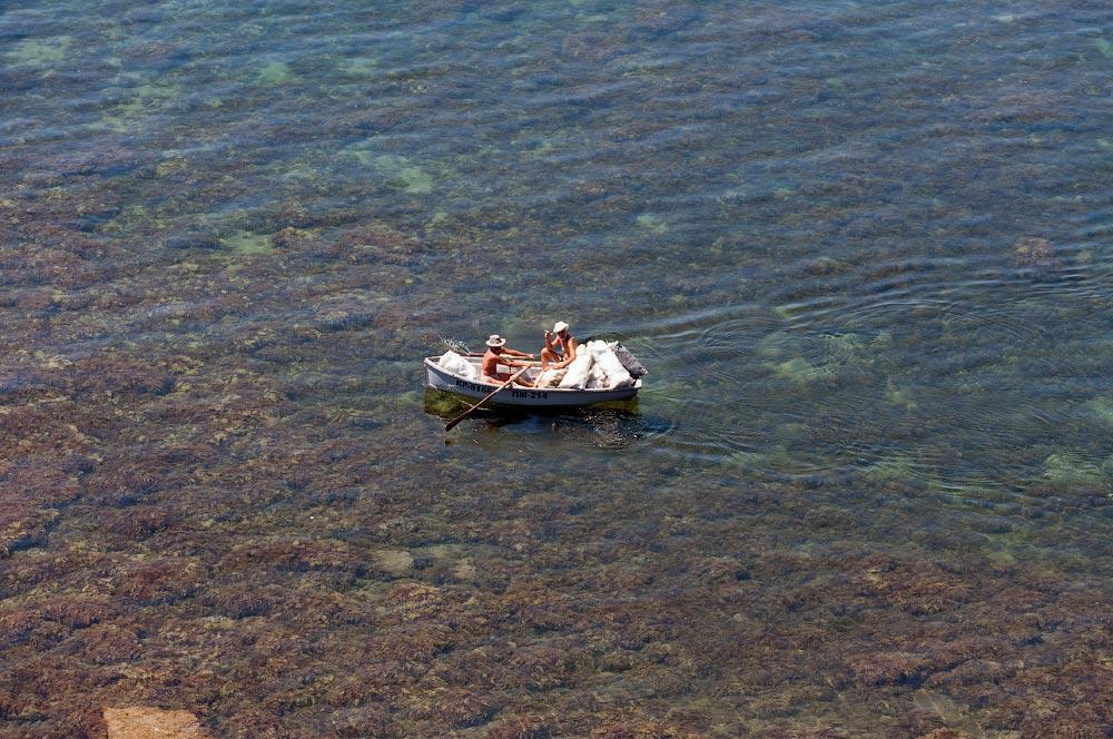 Крым, поселок Орджоникидзе (Феодосия), пляжи - лето 2011 года (29)