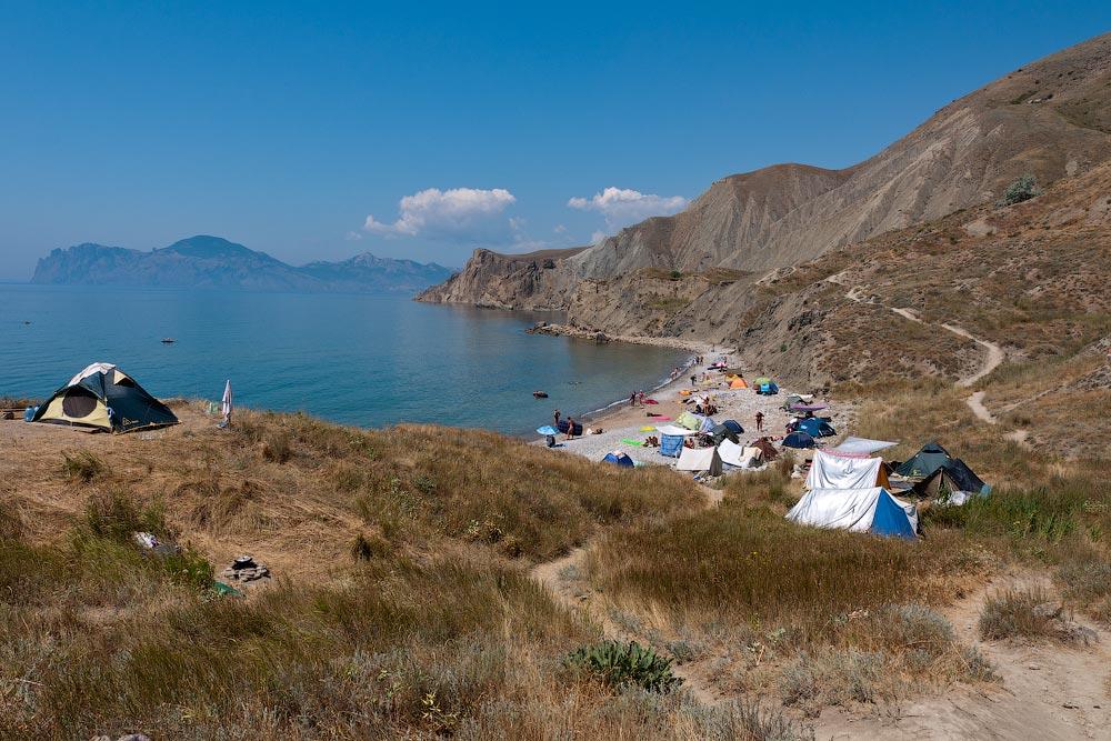 Крым, поселок Орджоникидзе (Феодосия), пляжи - лето 2011 года (30)