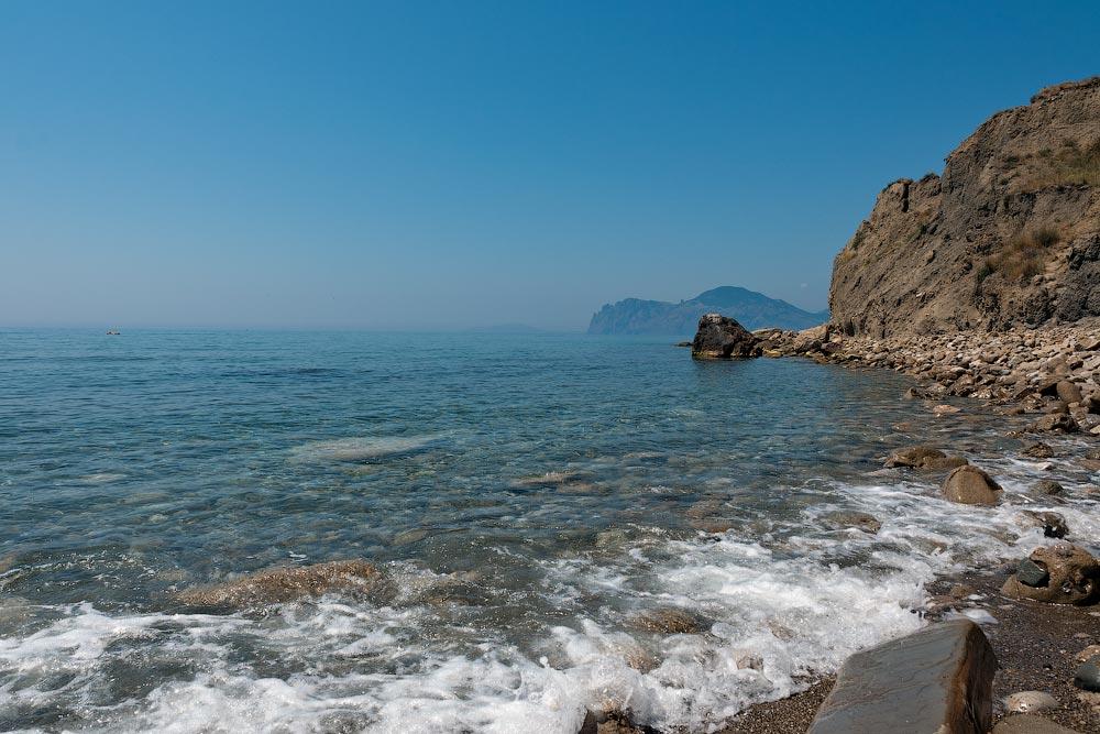 Крым, поселок Орджоникидзе (Феодосия), пляжи - лето 2011 года (32)