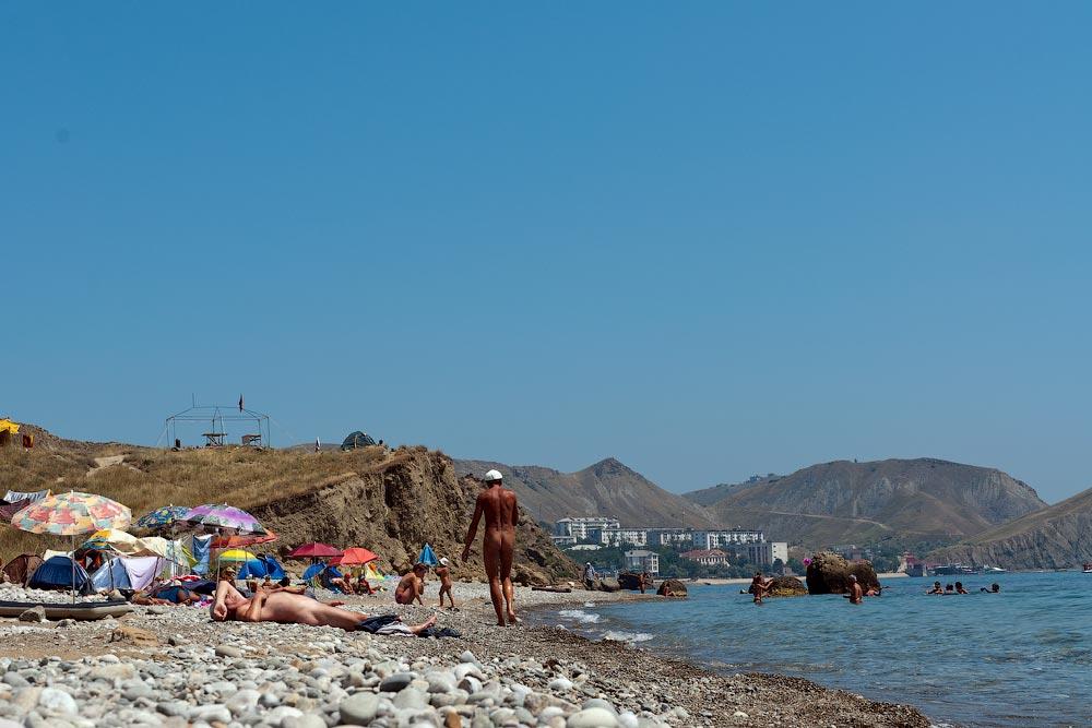Крым, поселок Орджоникидзе (Феодосия), пляжи - лето 2011 года (34)