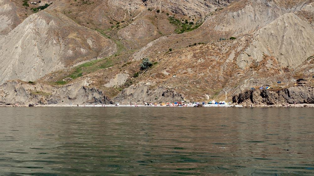 Крым, поселок Орджоникидзе (Феодосия), пляжи - лето 2011 года (36)