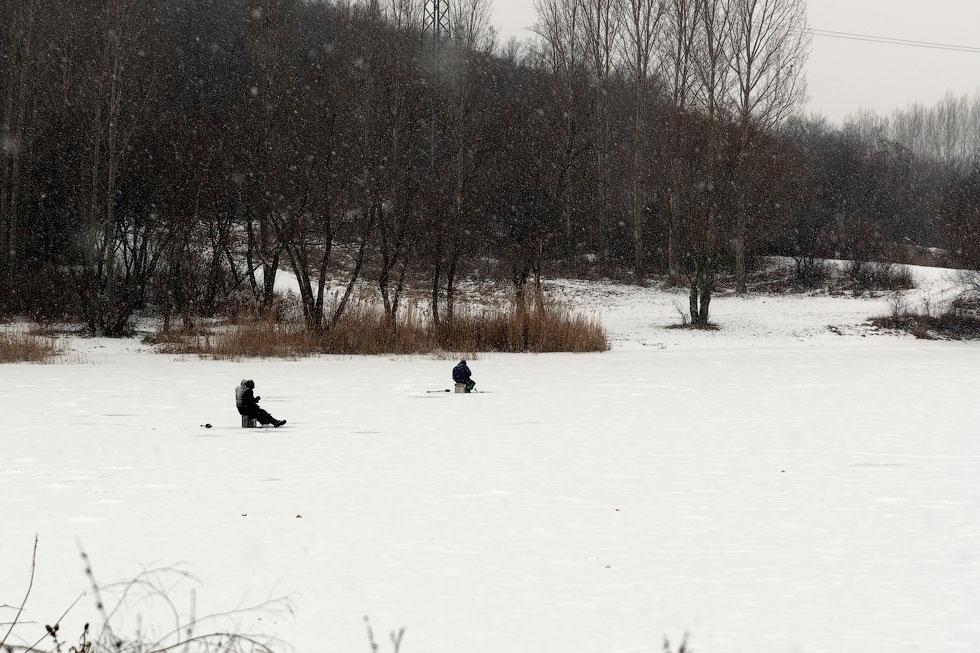 Приднестровье, трасса Рыбница - Тирасполь, февраль 2012 года (6)
