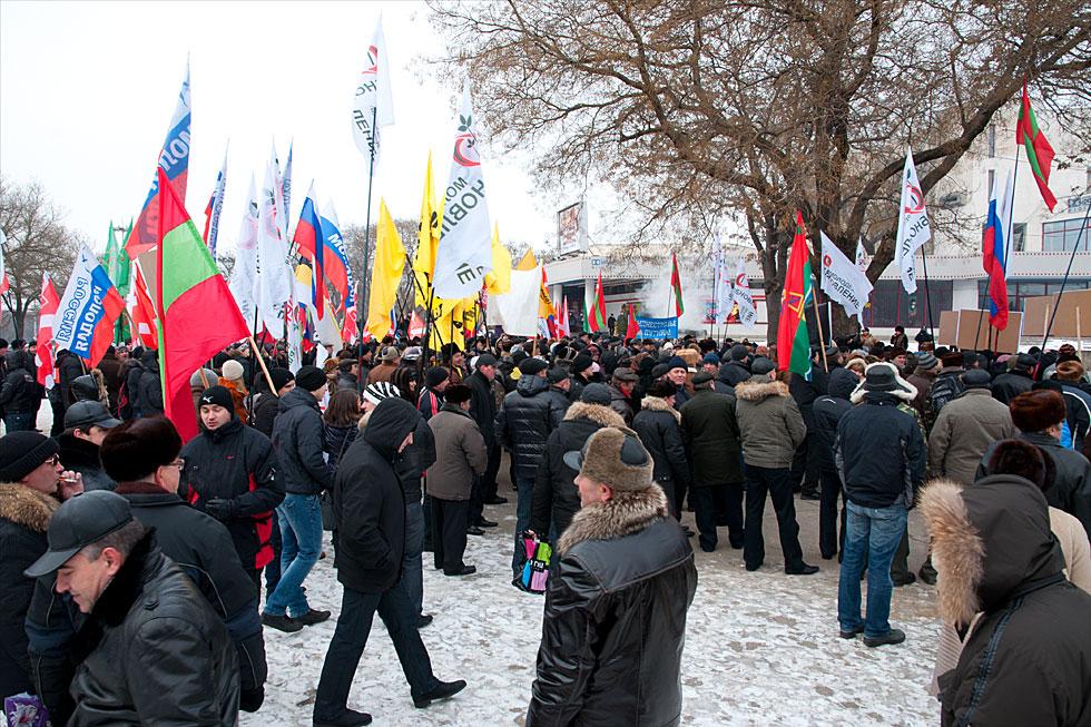 Митинга на площадке у кинотеатра «Тирасполь»  в поддержку российских миротворцев, а также кандидата в Президенты России Владимира Путина (10)