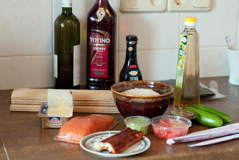 Японская кухня - готовим суши, делаем роллы (1)