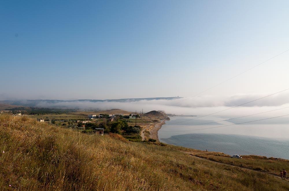 Крым, поселок Орджоникидзе (Феодосия), пляжи - лето 2011 года (41)
