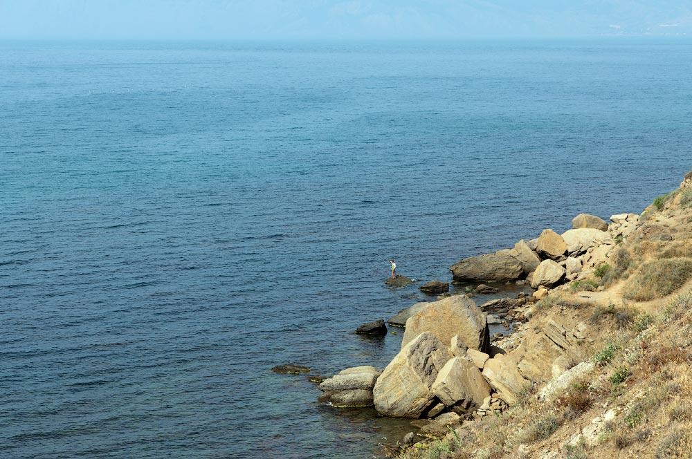 Крым, поселок Орджоникидзе (Феодосия), пляжи - лето 2011 года (43)