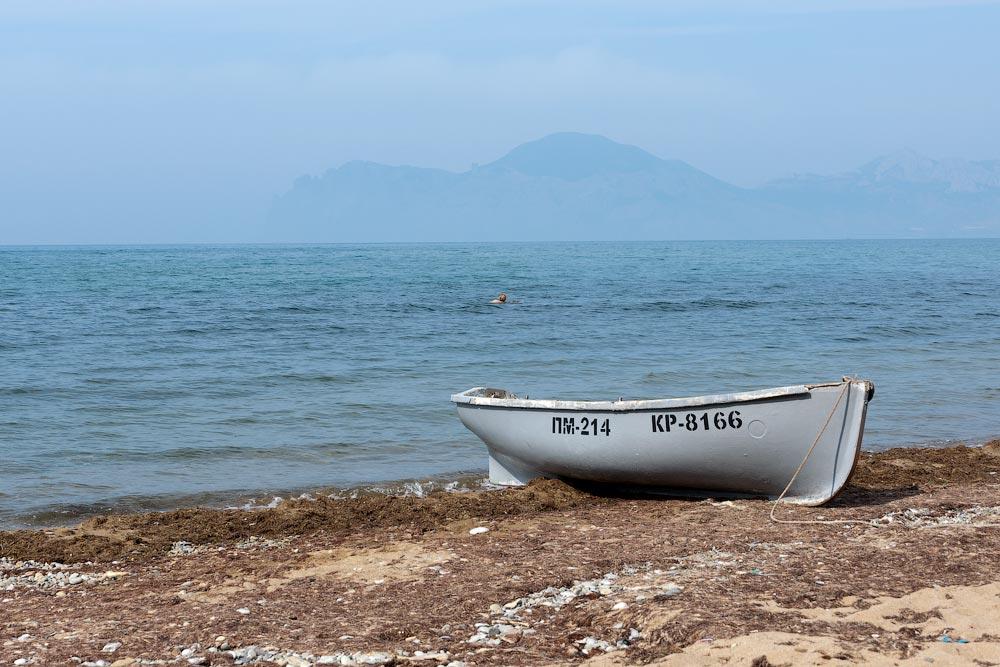 Крым, поселок Орджоникидзе (Феодосия), пляжи - лето 2011 года (45)