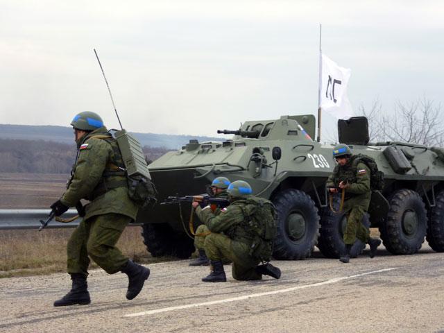 Миротворцы готовятся к войне