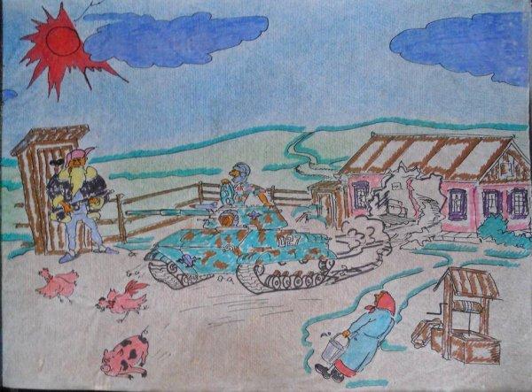 Дембельский альбом Касатова Михаила Сергеевича, бойца 103 гвардейской ВДД в период с 1990 по 1992 годы. Приднестровье (8)