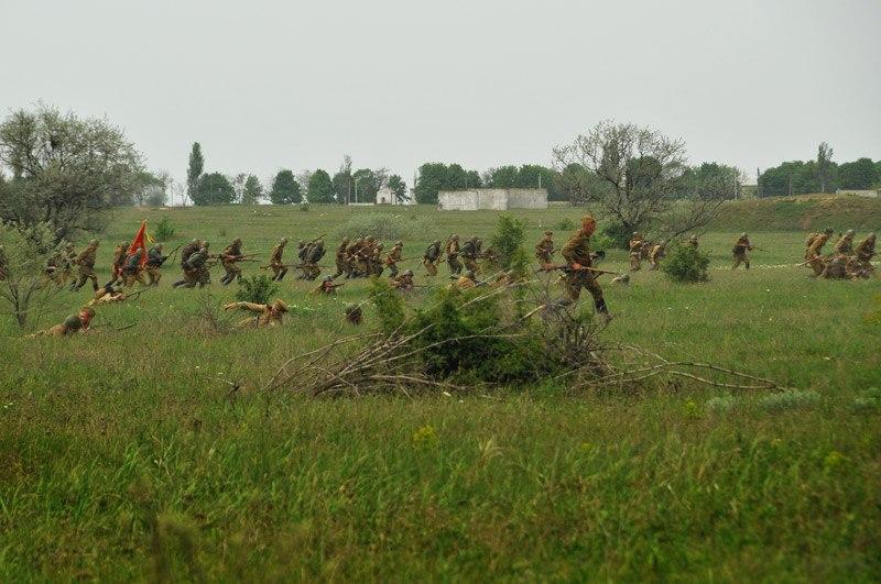 Битва за Берлин - реконструкция одного из сражений Великой Отечественной (14)