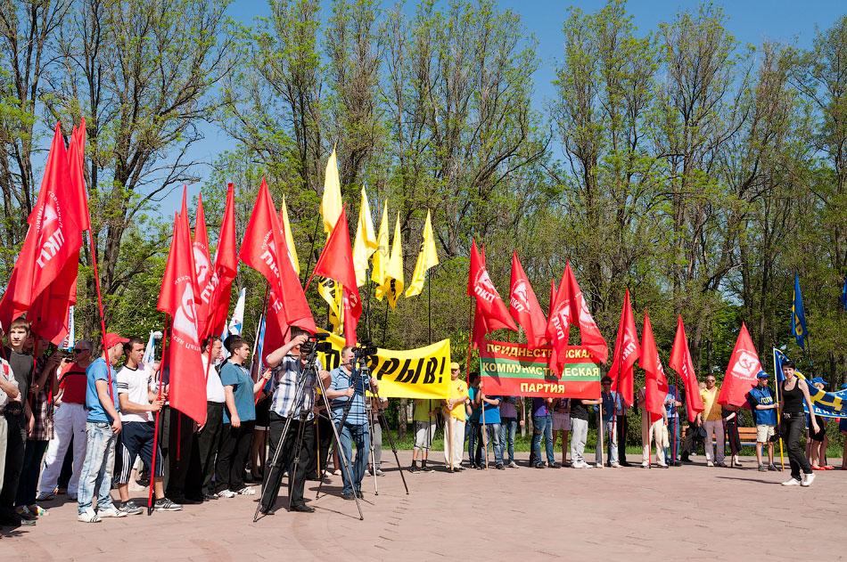 Первомайский митинг в Тирасполе, парк Победы (16)