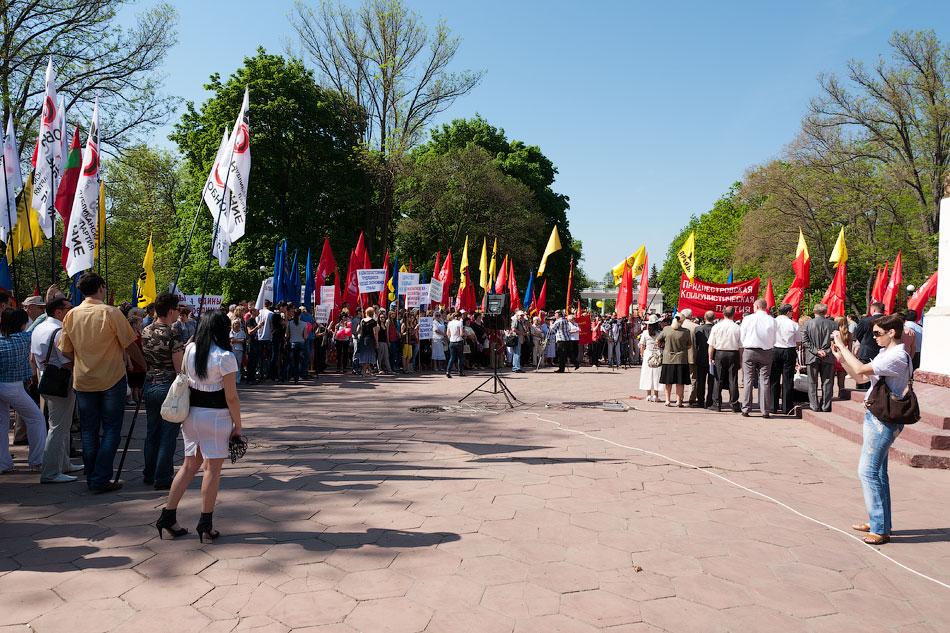 Первомайский митинг в Тирасполе, парк Победы (13)