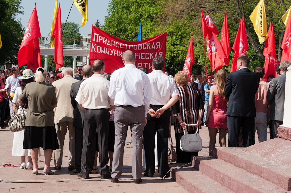 Первомайский митинг в Тирасполе, парк Победы (12)