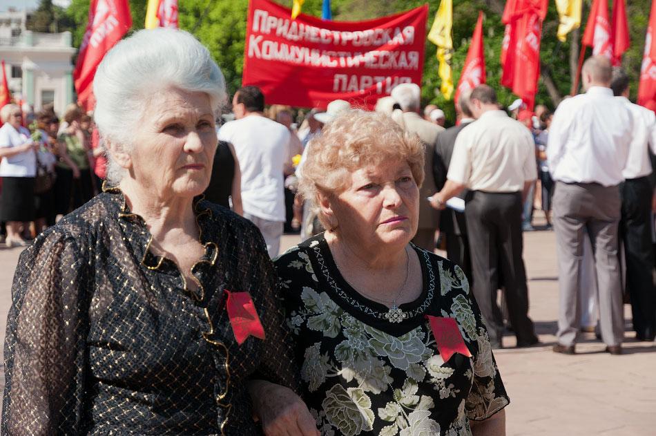 Первомайский митинг в Тирасполе, парк Победы (11)