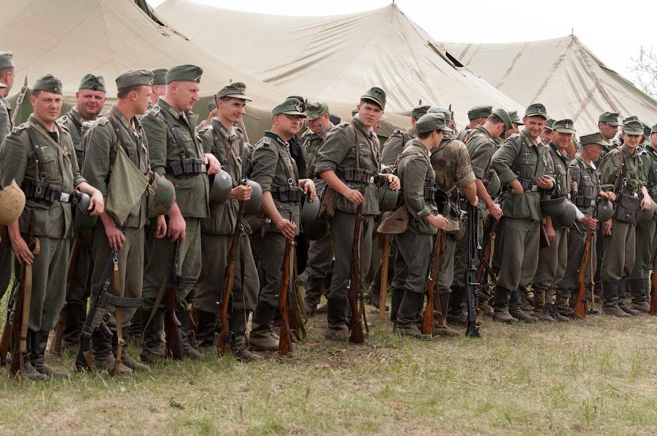 Битва за Берлин - реконструкция одного из сражений Великой Отечественной,  (11)