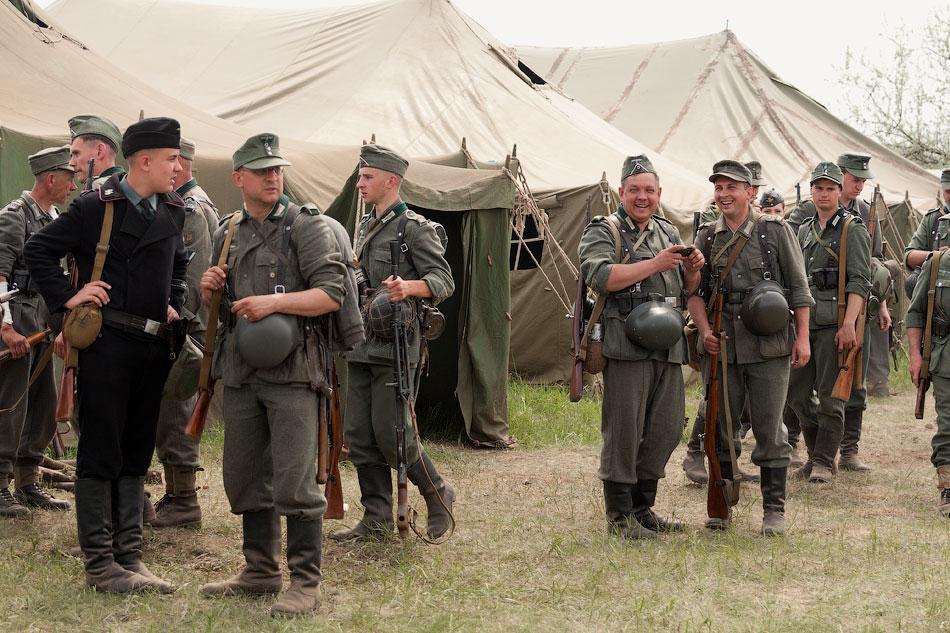 Битва за Берлин - реконструкция одного из сражений Великой Отечественной,  (14)