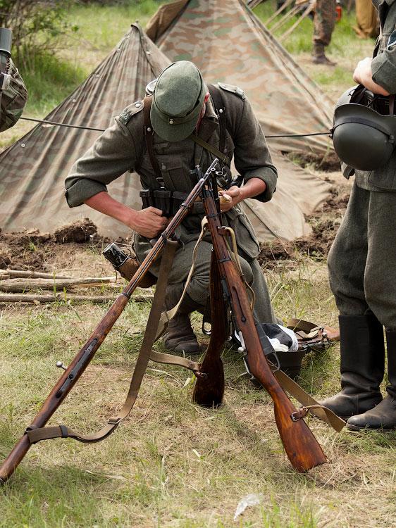 Битва за Берлин - реконструкция одного из сражений Великой Отечественной,  (17)