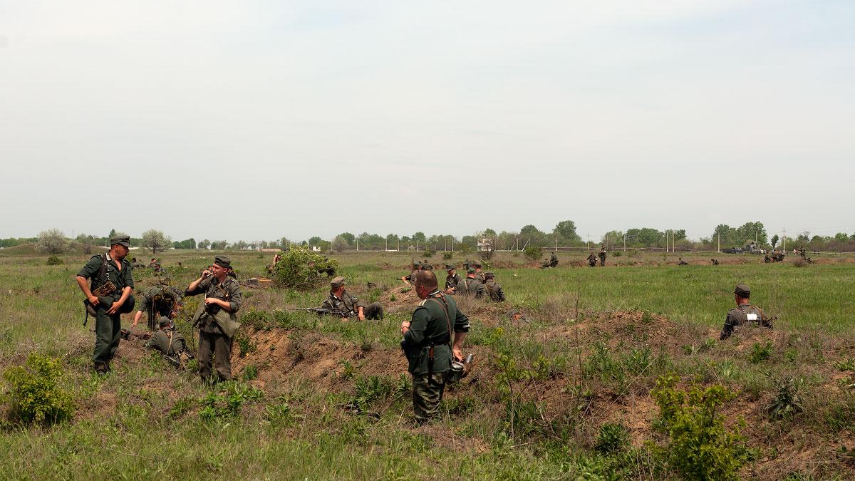 Битва за Берлин - реконструкция одного из сражений Великой Отечественной,  (31)