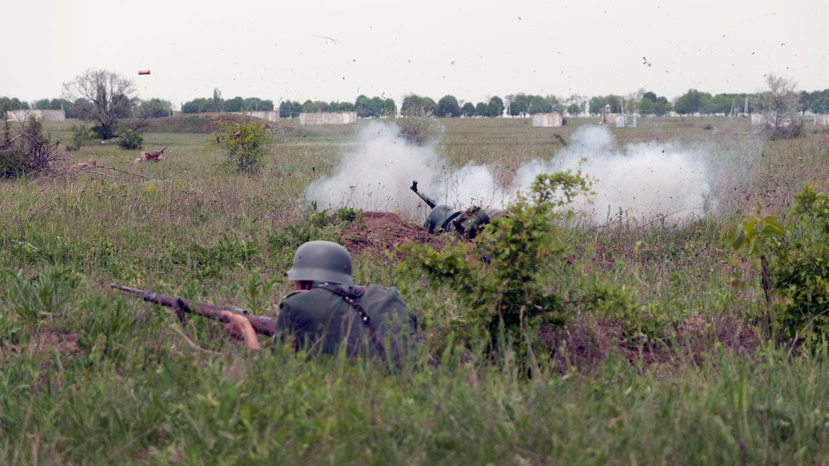 Битва за Берлин - реконструкция одного из сражений Великой Отечественной,  (41)