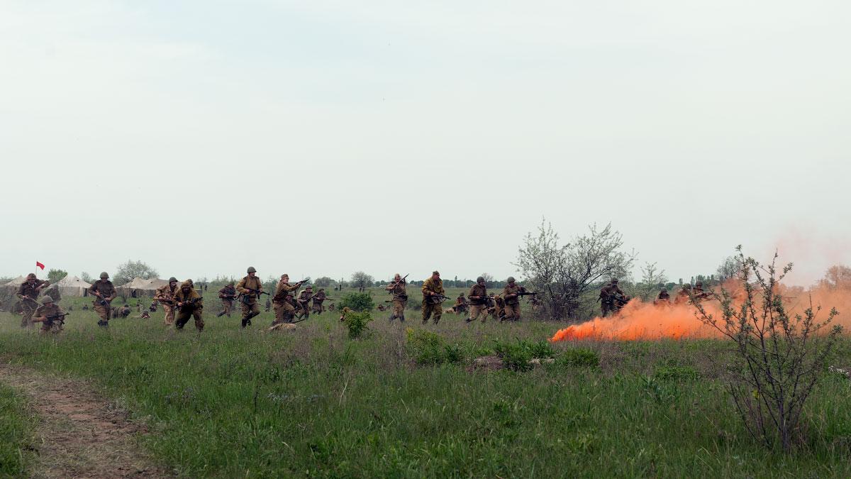 Битва за Берлин - реконструкция одного из сражений Великой Отечественной,  (42)