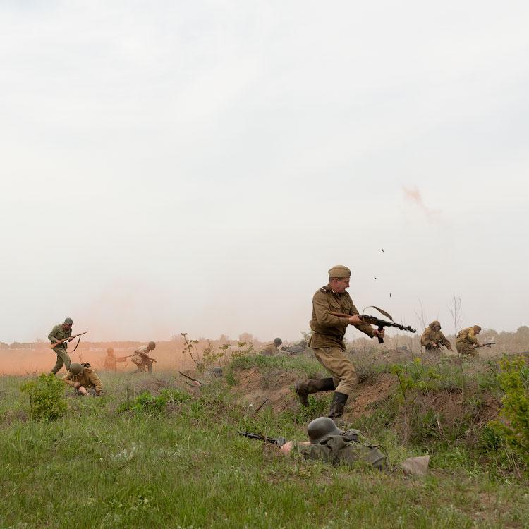 Битва за Берлин - реконструкция одного из сражений Великой Отечественной,  (44)