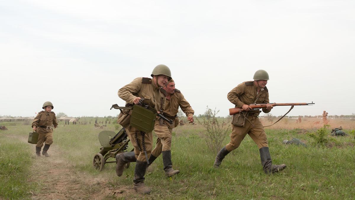 Битва за Берлин - реконструкция одного из сражений Великой Отечественной,  (46)