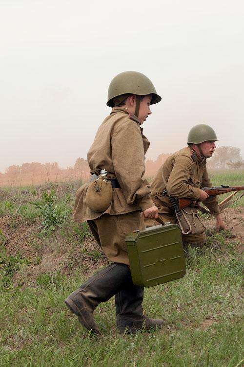 Битва за Берлин - реконструкция одного из сражений Великой Отечественной,  (47)