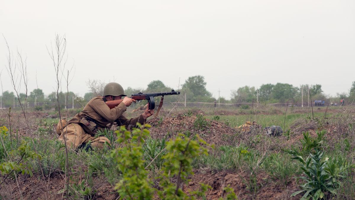 Битва за Берлин - реконструкция одного из сражений Великой Отечественной,  (48)